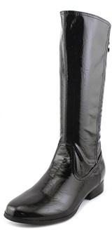 Nina Keana Youth Round Toe Synthetic Black Mid Calf Boot.