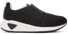 Diesel Black S KB Elastic Sneakers