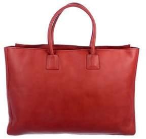 Brunello Cucinelli Monili Embellished Leather Tote