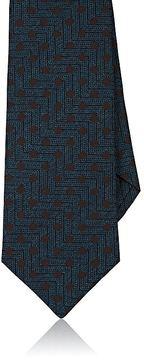 Isaia Men's Silk Textured-Weave Necktie