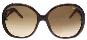Chloé Ce651s 214 Light Havana Oversized Sunglasses.
