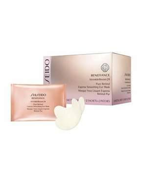 Shiseido Benefiance WrinkleResist24 Pure Retinol Express Smoothing Eye Masks, 12ct