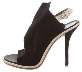 Balenciaga Suede Gloves Sandals