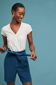 Anthropologie Paperbag-Waisted Bermuda Shorts