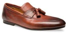 Bally Pluthon Tassel Reverse Goodyear Leather Loafers