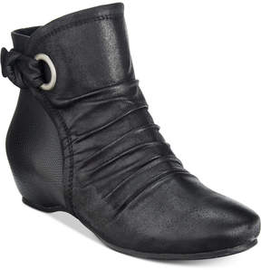 Bare Traps Salie Wedge Booties Women's Shoes
