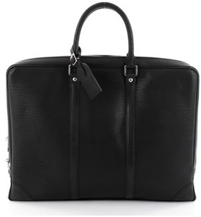 Louis Vuitton Pre-owned: Porte-documents Voyage Briefcase Epi Leather. - BLACK - STYLE