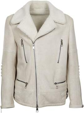 Neil Barrett Fur Biker Jacket