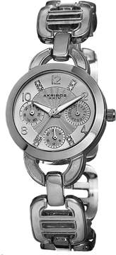Akribos XXIV Silver-tone Base metal Ladies Watch
