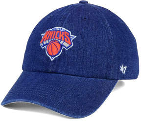 '47 New York Knicks All Denim Clean Up Cap