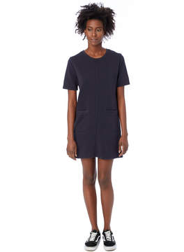 Alternative Apparel Weathered Wash Lightweight French Terry Dress - 62643Q7