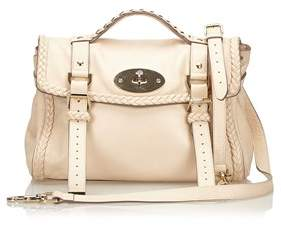 Mulberry Pre-owned: Leather Alexa Satchel.