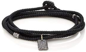 M. Cohen Men's Tag On Cord Wrap Bracelet