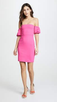 Susana Monaco Melody Gathered Short Sleeve Dress