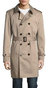 Lauren Ralph Lauren Back Overlay Long Sleeves Coat
