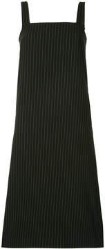 G.V.G.V. pinafore pinstriped dress