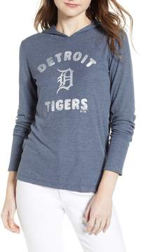 '47 Campbell Detroit Tigers Rib Knit Hooded Top