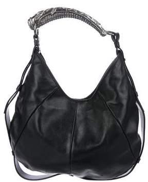 Saint Laurent Mombasa Leather Hobo