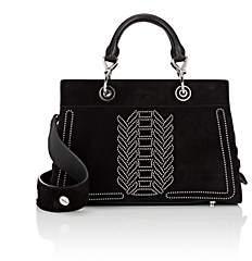 Altuzarra Women's Shadow Small Suede Tote Bag - Black