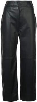 Apiece Apart high-waisted wide leg trousers