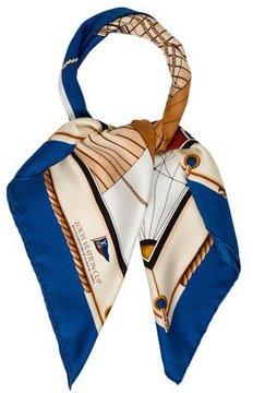 Louis Vuitton Cup Silk Scarf
