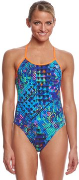 TYR Women's Machu Crosscutfit Tieback One Piece Swimsuit 8150993