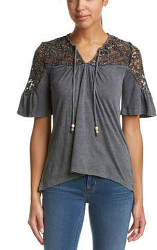 Anama Lace Yoke Top