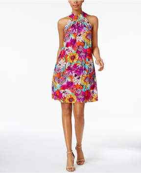Cable & Gauge Cupio Printed Shift Dress
