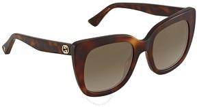 Gucci Brown Gradient Sunglasses GG0163S 002