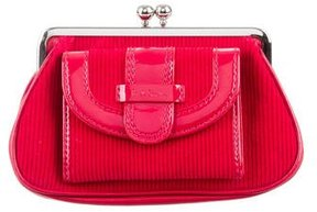 Paul Smith Red Corduroy Pouch