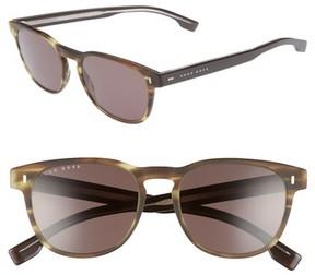 BOSS Men's B0926S 52Mm Polarized Sunglasses - Brown/ Brown