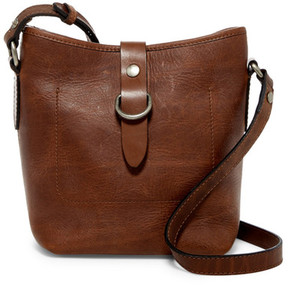 Frye Amy Leather Bucket Crossbody Bag