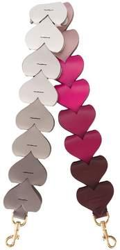 Anya Hindmarch heart link shoulder strap
