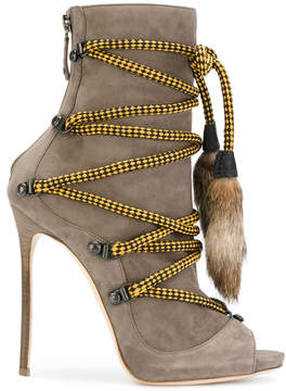 DSQUARED2 bungee rope ankle boots