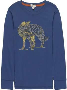Appaman Fox Graphic Long-Sleeve T-Shirt