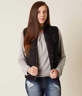 Daytrip Lace Puffer Vest
