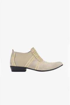 Anine Bing Low Charlie Boots Taupe