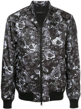 Roar floral rear print jacket