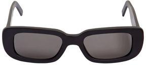 Off-White Rectangle Frame Acetate Sunglasses