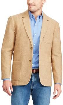 Chaps Men's Classic-Fit Herringbone Wool-Blend Blazer