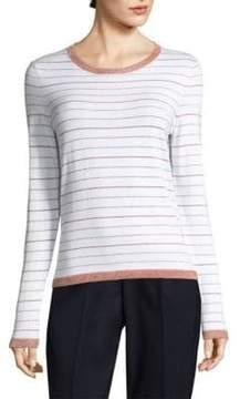 Peserico Lurex Stripe Sweater