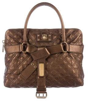 Marc Jacobs Quilted Bruna Bag - METALLIC - STYLE
