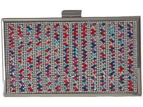 Jessica McClintock Ella Sparkle Box Clutch Clutch Handbags