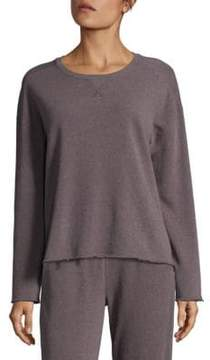 ATM Anthony Thomas Melillo Pullover Shoulder Sweatshirt