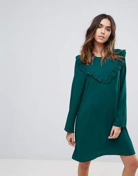 Brave Soul Frill Swing Dress