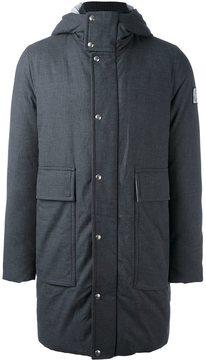 Moncler Gamme Bleu hooded padded coat