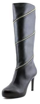 Thalia Sodi Womens Valdiva Leather Almond Toe Knee High Fashion Boots.