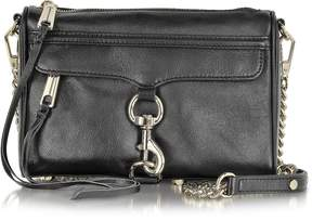 Rebecca Minkoff Black Leather Mini MAC Crossbody Bag - ONE COLOR - STYLE
