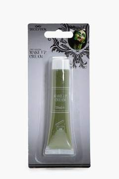boohoo Halloween Green Make Up Cream
