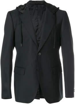 Moschino hooded blazer
